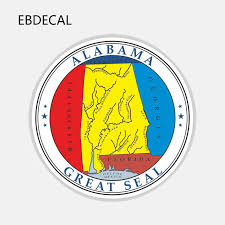 Ebdecal Alabama Great Seal Round For Auto Car Bumper Window Wall Decal Sticker Decals Diy Decor Ct11533 Car Stickers Aliexpress