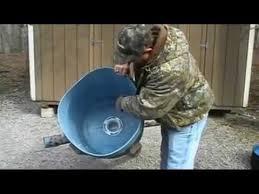 gravity deer feeder 55 gallon you