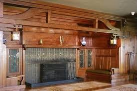 the craftsman fireplace mantel shelf