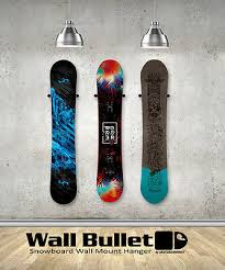 snowboard wall mount hanger rack sims