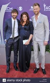 Hilary Scott and the band Lady Antebellum at the Country Music ...