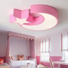 Children S Room Led Light Baby Room Girl Lamp Led Star Roof Light Moon Child Kids Room Light Kids Bedroom Ceiling Light Lamp Thefashionique