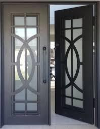 China American Standard Wrought Iron Entrance Door China Door Iron Gate Design Used Wrought Iron Door Gates