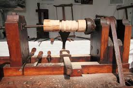 9 homemade wood lathes plans you can