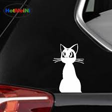 Car Sticker Sailor Moon Cute Pet Cat Lady Silhouette Suv Window Bumper Door Laptop Kayak Canoe Lovely Decal Hotmeini 12 7 8 2 Cm Car Stickers Aliexpress