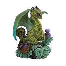 artichoke dragon figurine by stanley