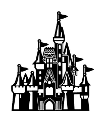 Princess Castle Vinyl Wall Decal 22080 Castle Silhouette Disney Castle Drawing Disney Decals
