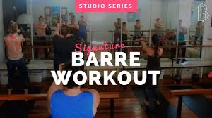 40 minute body toning barre workout