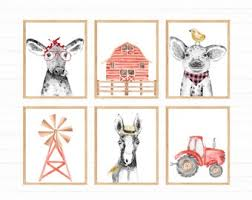 Kids Room Farm Theme Etsy