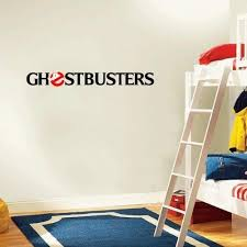 Amazon Com Ghostbusters Cartoon Wall Decal Sticker 4 X 25 Home Kitchen