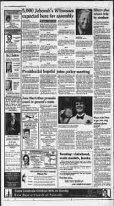 The Tennessean from Nashville, Tennessee on May 31, 1986 · Page 4