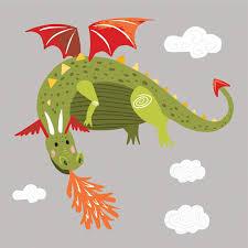 Zoomie Kids Dragon Peel And Stick Giant Wall Decal Wayfair