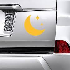 Crescent Moon Icon Sticker
