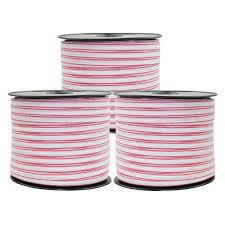 Polytape 1200m Roll Poly Tape Electric Fence Energiser Stainless Steel Fencing Jono Johno