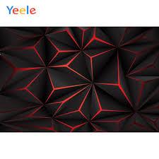 Yeele أسود بلون أحمر الإنتصارات 3d الماس نمط التصوير الخلفيات