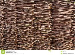Woven Twigs Fence Stock Image Image Of Nature Homemade 54471157