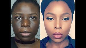 skin finish foundation routine for