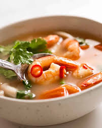 Tom Yum Soup (Thai soup)