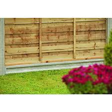 Wickes Recessed Concrete Gravel Board 50mm X 150mm X 1 83m Wickes Co Uk