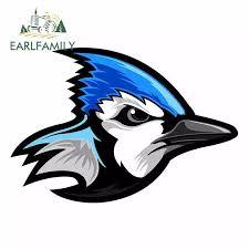 Earlfamily 13cm X 8 9cm For Cartoon Blue Jay Oem Fine Decal Funny Car Stickers Windshield Bumper Windows Vinyl Jdm Accessories Car Stickers Aliexpress