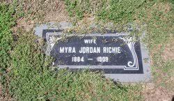 Myra Jordan Richie (1884-1909) - Find A Grave Memorial