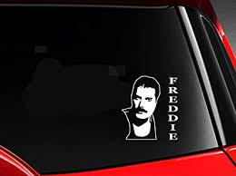 Amazon Com Dkisee Freddie Music Artist Car Decal Vinyl Motorcycle Truck Auto Bumper Sticker Window Mirror Wall Decal Laptop Decal 6 Inch Sports Outdoors
