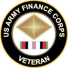 Amazon Com Military Vet Shop Magnet Us Army Finance Corps Afghanistan Vinyl Magnet Car Fridge Locker Metal Decal 3 8 Automotive
