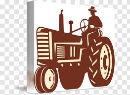Tractor Farm Agriculture Sticker Clip Art Brand Transparent Png