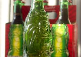beer in the green buddha bottles