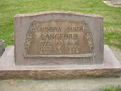 Saundra Smith Langford (1941-1966) - Find A Grave Memorial