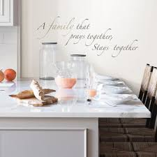 Wall Pops Brown Pray Together Wall Quote Decal Dwpq3025 The Home Depot