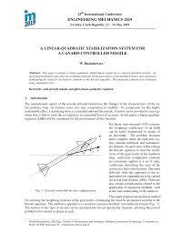 a linear quadratic stabilization system