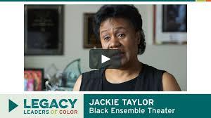 JACKIE TAYLOR, Black Ensemble Theater on Vimeo