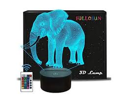 Fullosun Decorative Night Light For Kids 3d Car Nightlight For Child Room Decor Xmas Vehicle Toys Gift For Birthday Boy Girl With 7 Color Changing Remote Control Newegg Com