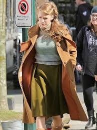 Blake Lively The Age of Adaline Brown Coat - Just American Jackets