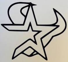 Houston Texans Astros Sports Fan Car Truck Window Vinyl Sticker Decal 12 Colors Ebay