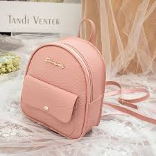 korean style mini backpack shoulder bag