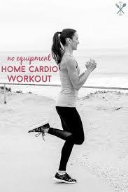 no equipment home cardio workout