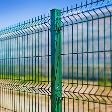 China Factory Price Powder Coated Garden Curved 3d V Bend Clear Vu Welded Wire Mesh Garden Fence China Mesh Fence Panel Triangular Bending Mesh Fence