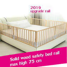 Solid Wood Baby Bed Guardrail Liftable Bed Railing Baby Anti Fall Bed Railing Bedside Baffle Universal 60cm 2 M Bed Saftey Rail Buy At The Price Of 61 12 In Aliexpress Com Imall Com