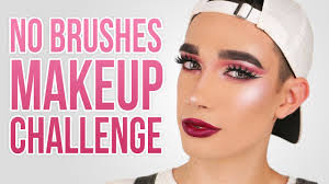 full face using no brushes makeup