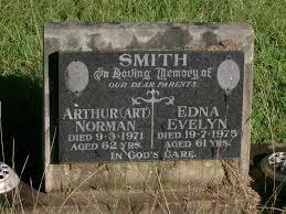 Edna Evelyn Madge Smith (Armitage) (1914 - 1975) - Genealogy
