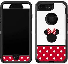 Amazon Com Skinit Decal Skin Compatible With Otterbox Defender Iphone 7 Plus Officially Licensed Disney Minnie Mouse Symbol Design