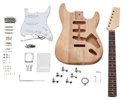 electric guitar kit st style thomann uk