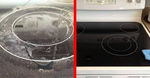 cleaning dirty ceramic cooktops