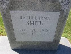 Rachel Irma Smith (1926-2010) - Find A Grave Memorial