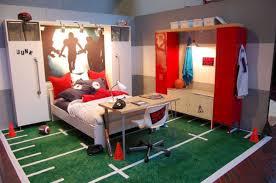 Cool Sport Bedroom Ideas For Boys 7 Boy Sports Bedroom Sports Room Boys Boys Bedroom Decor