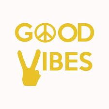 Shop Good Vibes Decal Piece Sign Vinyl Sticker Hippie Decals Good Vibes Wall Decal Overstock 31743243
