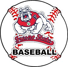 Fresno State Bulldogs 4 Inch Round Baseball Vinyl Decal Sticker Walmart Com Walmart Com