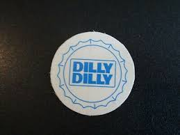 Budweiser Bud Light Dilly Dilly Cap Logo Clear Sticker Decal Craft Beer Brewing Ebay